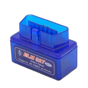 ELM327 v1.5 Bluetooth Mini Small Interface OBD2 Scanner Adapter Compatible with Android / Droid Torque