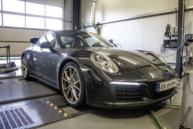 Porsche 911 Carrera 4S DTE Leistungsprüfstand Dynometer 1