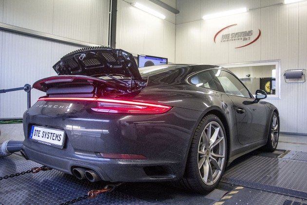 Porsche 911 Carrera 4S DTE Leistungsprüfstand Dynometer